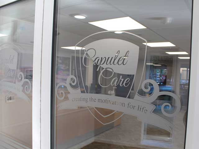 Capulet Care Logo On Windows