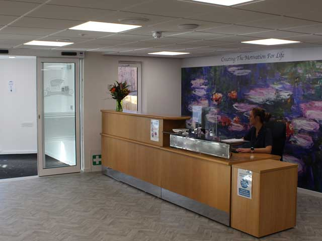 Cleobury Hill's Reception