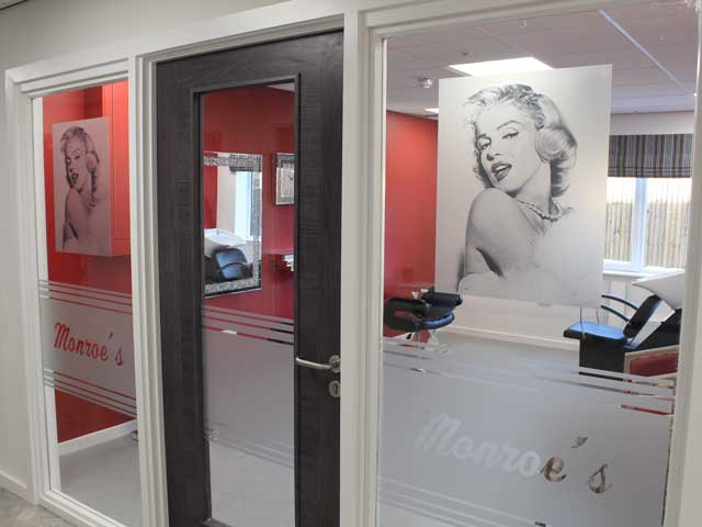 Monroe's Hair Salon In Cleobury Hills