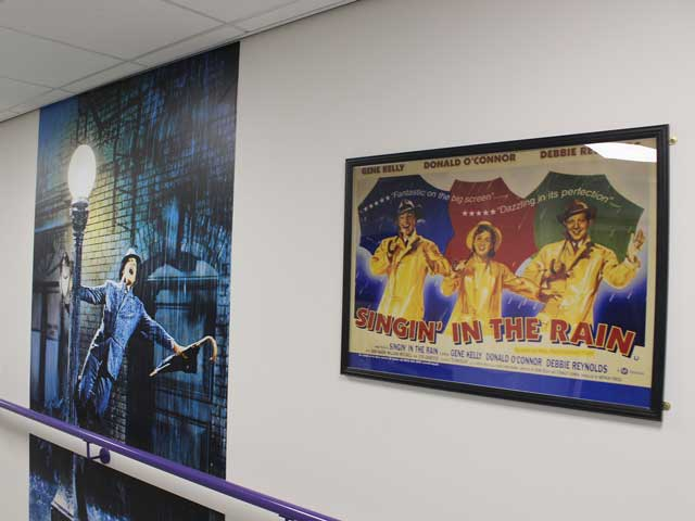 Singing In The Rain Musical Posters